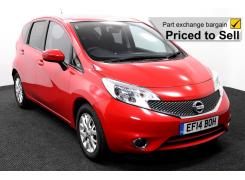 Nissan Note EF14BOH Red 1 P2S